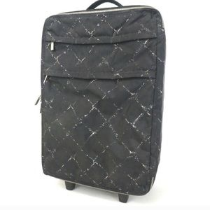 Authentic Vintage Chanel Carry on suitcase